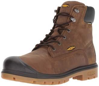 """Keen Men's Baltimore 6"""" Steel Toe 600 Grams Waterproof Industrial Boot"""