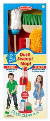 Melissa & Doug Dust, Sweep & Mop Toy Set