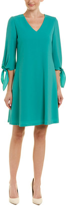 Lafayette 148 New York Tie Cuff Shift Dress