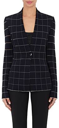 Giorgio Armani Women's Ottoman-Knit One-Button Jacket $3,695 thestylecure.com