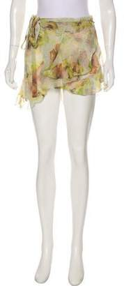 7ce2fa616b Isabel Marant Silk Asymmetrical Skirt w/ Tags