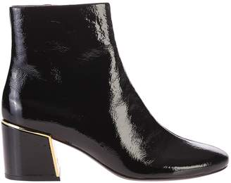 7345223f4 Tory Burch Black Zipped Ankle Boots