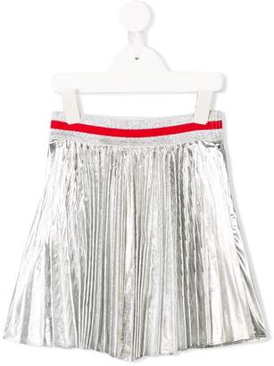 MonnaLisa pleated mini skirt