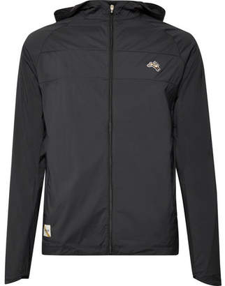 Tracksmith Waite Water-Repellent Stretch-Shell Hooded Jacket