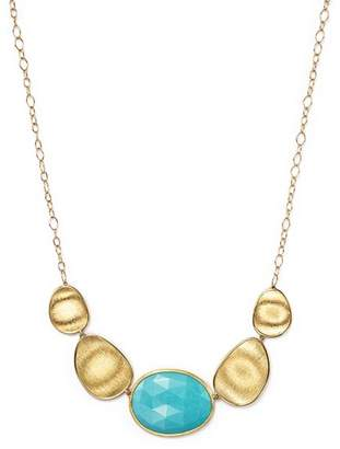 Marco Bicego 18K Yellow Gold Turquoise Necklace, 16.5""