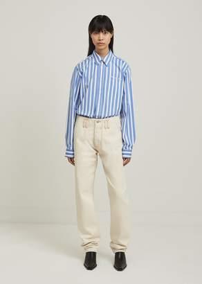 Martine Rose Denim Fly Pocket Jeans