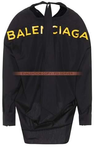 Balenciaga Printed cotton shirt