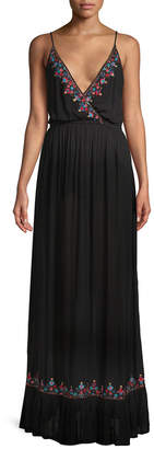 Raga Bandita Surplice Maxi Dress