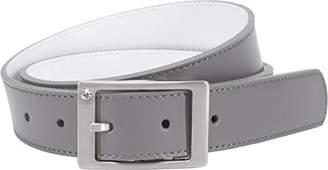 Nike Women's Reversible Leather Belt With Rhinestone Harness