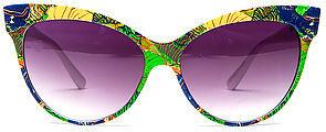 *MKL Accessories The Splash Sunglasses in Green