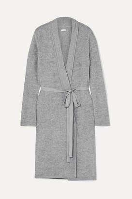 Skin - Pima Cotton-terry Robe - Gray