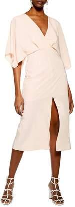 Topshop Batwing Midi Dress