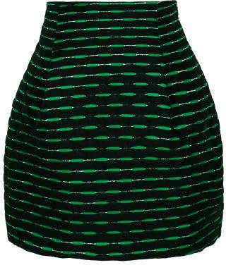 Jonathan Saunders Preorder Lenny Short Jacquard Skirt