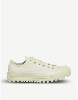 Converse Chuck Taylor Lift Ripple Ox canvas trainers