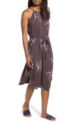Lucky Brand Floral Halter Dress