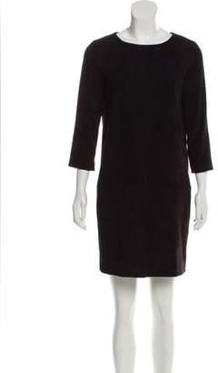 The Row Suede Mini Dress