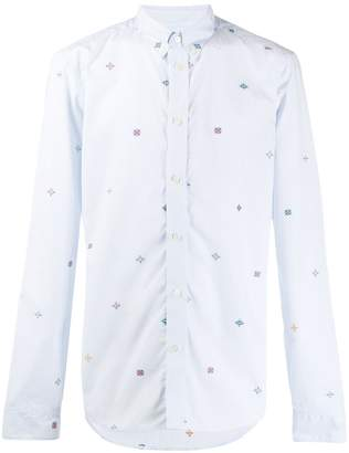 Kenzo embroidered stripe shirt