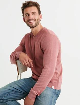Lucky Brand WASHED WELTERWEIGHT V NECK