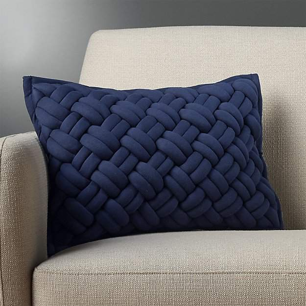 "CB218""X12"" Jersey Interknit Grey Pillow"