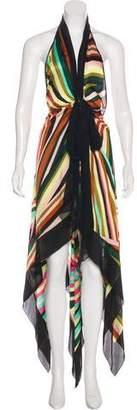 Missoni Silk Halter Dress
