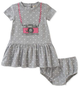 Kate Spade Two-Piece Camera Print Dress and Panty Set