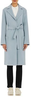 Helmut Lang Women's Belted Long Coat-BEIGE $1,195 thestylecure.com