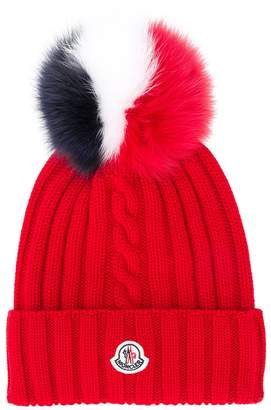 Moncler ribbed knit hat