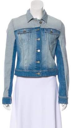 Paige Colorblock Denim Jacket w/ Tags