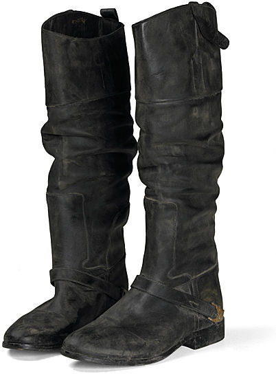 Golden Goose Distressed Charlyle Boots