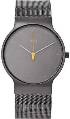 Braun Bn0211 Classic Slim Stainless Steel Mesh Watch