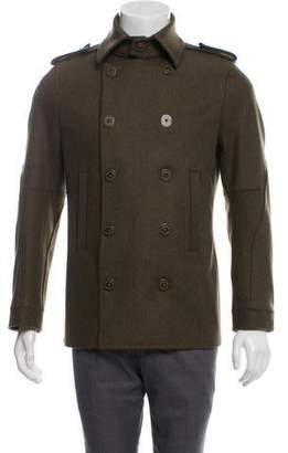 DSQUARED2 Wool Double-Breasted Peacoat