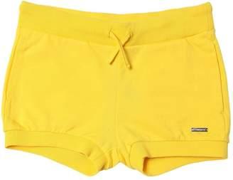 DSQUARED2 Logo Plaque Cotton Sweat Shorts