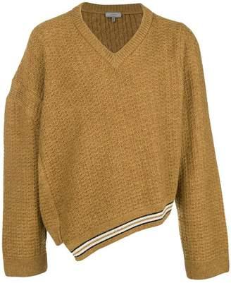 Lanvin asymmetrical jumper