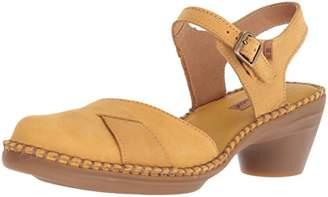 El Naturalista Women's N5324 Pleasant /Aqua Heeled Sandal 40 Medium EU (9 US)