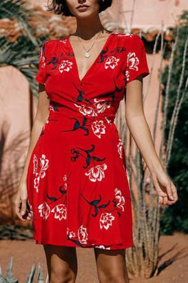 Yumi Kim Kennedy Dress Tulip Crush Red