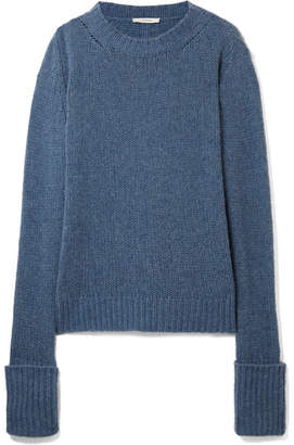 The Row Gibet Cashmere Sweater - Blue