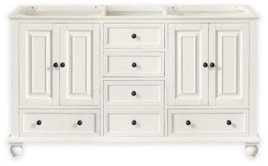 Avanity Thompson 60-Inch Double Vanity Base in French White