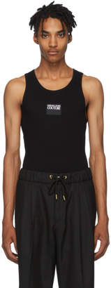 Versace Black Logo Tank Top