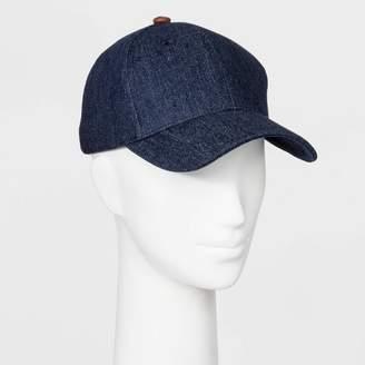 Universal Thread Women's Cotton Baseball Hat - Universal ThreadTM Blue