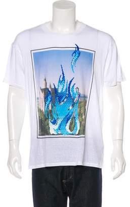 Julien David Short Sleeve Crew Neck T-Shirt