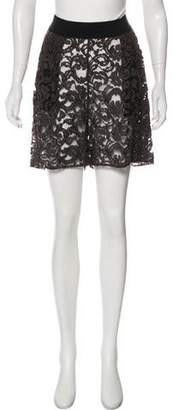 Damir Doma Sheer High-Rise Shorts