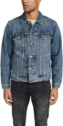 Madewell Classic Denim Jacket In Medium Indigo