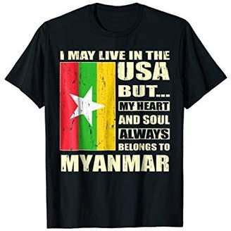 Myanmar flag patriotic T-Shirt