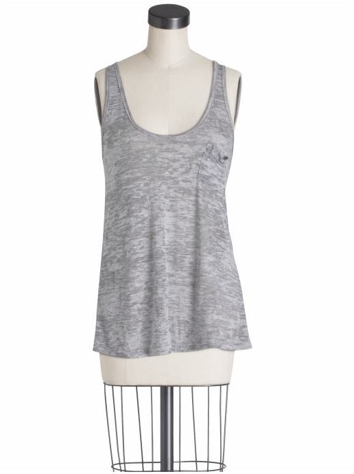 Alternative Apparel Heather Burnout Racerback Tank