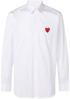 Comme des Garcons heart logo shirt
