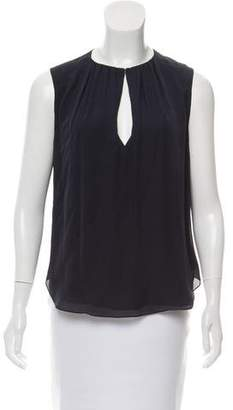 L'Agence Sleeveless Crew Neck Top