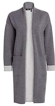 Theory Women's Double Face Wool-Blend Cardigan