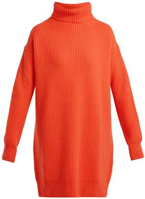 Christopher Kane Chunky ribbed-knit cashmere roll-neck sweater