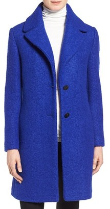 Women's Tahari 'Tessa' Boiled Wool Blend Coat $248 thestylecure.com