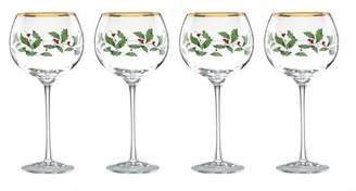 Lenox Holiday Balloon 16 oz. Wine Glass